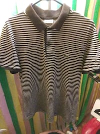black and white striped polo shirt Baltimore, 21207