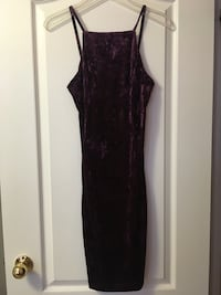 F21 Purple Velvet Long Dress - XS Toronto, M5S 2V1