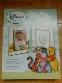 Disney baby personalized handprint photo frame  Richmond Hill, L4C