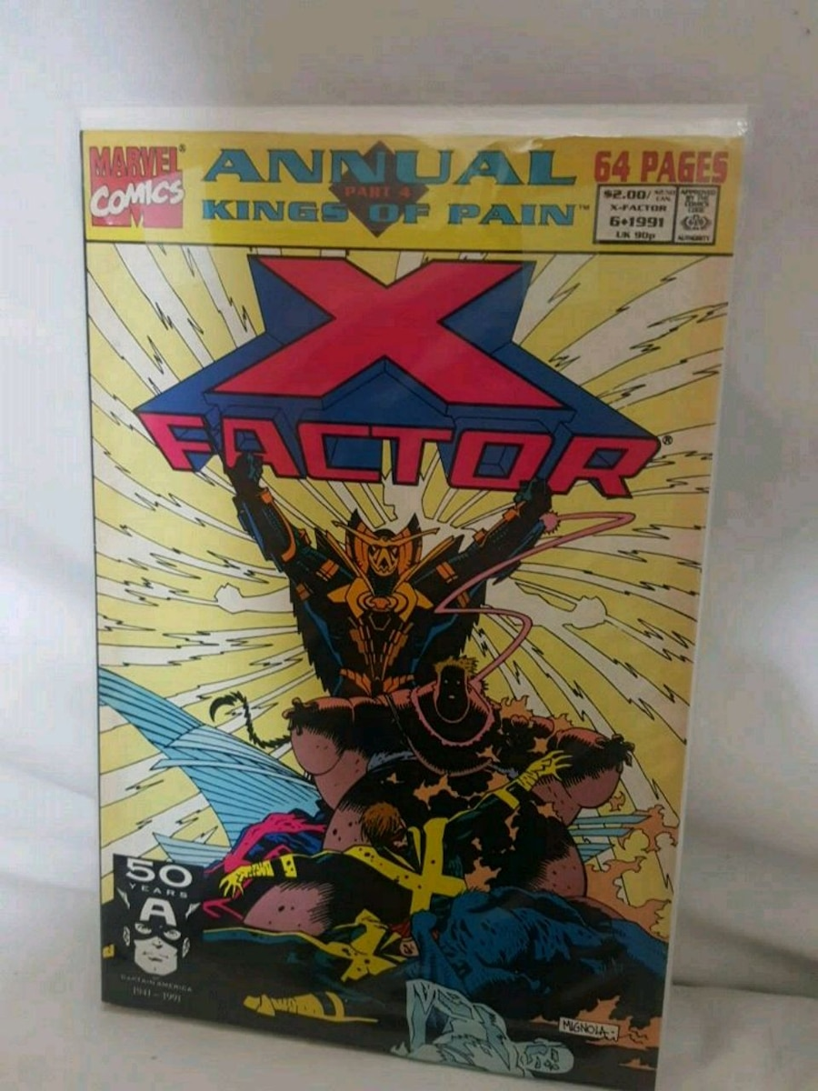 Marvel Comics Annual Kings of Pain X-Factor comic book pack for sale  Goodlettsville