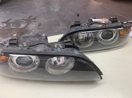 BMW 5 Series OEM headlights for 2001 -2003 model years