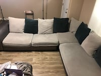 Two piece Sectional sofa Gretna