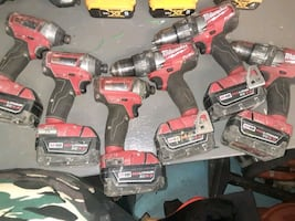 FUEL 3 impact and 3 hammer DRILLS