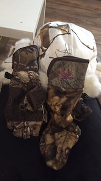 REALTREE winter hat & gloves (womens) null, N0A
