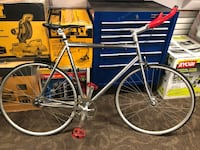 """Bicycle, Bicycles Remond Flat Tieres Fixed 24"""" Chrome Frame .. Negoti"""