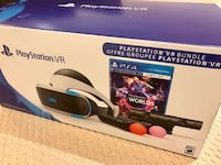 PSVR Bundle + 3 Games Burnaby