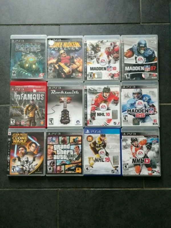 Ps3 games set or each (flex)