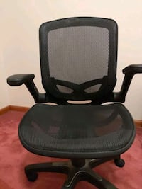 Great office chair.arms and seat adjust.swivels/rocks