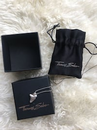 Thomas Sabo -Necklace/pendant & bracelet for $150*