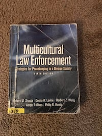 Multicultural Law Enforcement 5th edition Fullerton, 92831