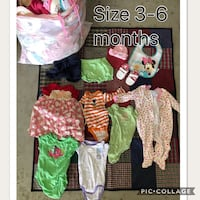 Girl clothes (Size 3-6 months) Acton, 93510