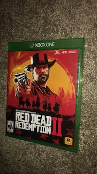 Xbox one Red Dead Redemption 2  Omaha, 68137