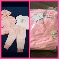 BNWTs 6mnths baby outfit & Blanket  Whitby, L1N 1W4