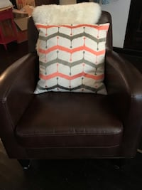 West Elm grey and pink Pillow Chicago, 60610