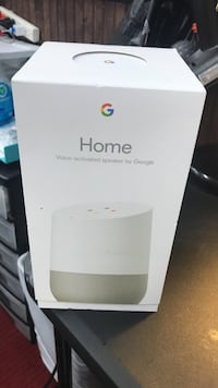 white Google Home voice-activated speaker box Metairie, 70001