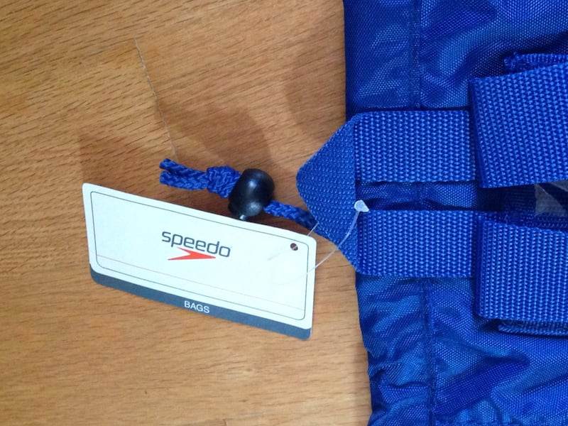 Brand New with tags Deluxe Mesh Speedo Equipment Knapsack. 69bc3aa0-5e54-409c-a793-5034c96a17bf