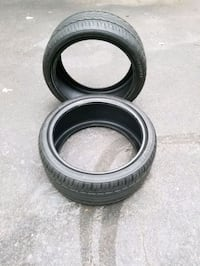 Two tires less than 50 miles on them. 255 35 19 Waldorf, 20603