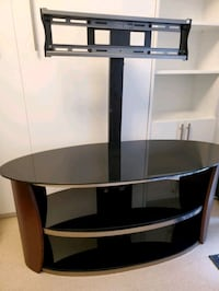 Glass 3 tier swivel tv mount Toronto