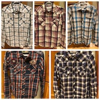Men's plaid shirts Calgary, T3M 2G7
