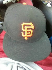 San Francisco Giants fitted hat size 7 5/8