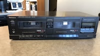 Technics RS T-130 stereo double cassette player. Excellent condition. Edmonton, T6R