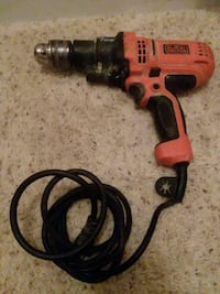 red and black Black & Decker cordless hand drill Houston, 77090