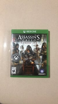 Assassin's creed syndicate xbox one game case Clarksburg, 20871