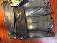 Size 5 boys jeans only 4 don't have holes take $10 for all  San Antonio, 78259