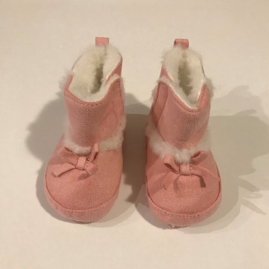 Carters Baby Girls' Cozy Boots