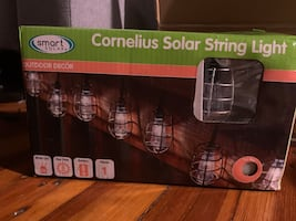 Outdoor/indoor latern string lights (solar or battery)