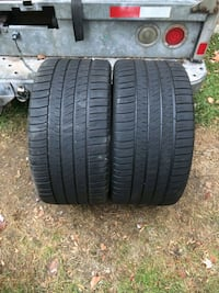 2 matching pair 285 30 zr 20 tires  285/30  zr20 z rated 90%+ tread Germantown, 20876