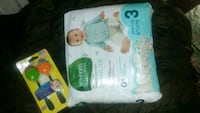 baby's Pampers Swaddlers pack 1962 km
