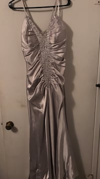 Silver prom dress Carlsbad, 88220
