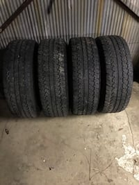 Bridgestone dueler AT 265/70/17 with stock Chevy rims  Hoover, 35226