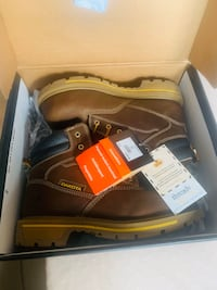 "Brand New Dakota 6"" Steel Toe Work Boots"