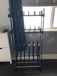 Shoe and boot rack on wheels Abbotsford, V3G 2C6