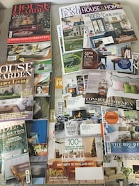 Magazines House and Home + House and Garden Toronto, M1L 3N1