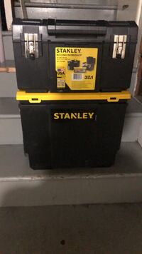 Black and yellow stanley tool chest San Francisco, 94134