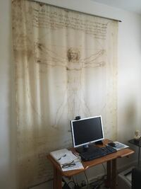 DaVinci Cloth Backdrop Print 28 mi