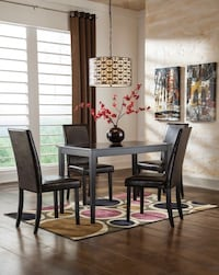 Brand new 5pc table set