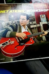 "Chet Atkins' Workshop"" vinyl album La Plata, 20646"