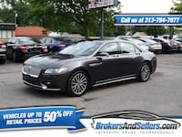 2017 Lincoln Continental Select AWD Taylor