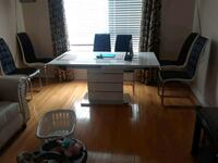 brown wooden desk with chair Brampton, L6V 2H7