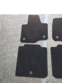 OEM Ford Floor Mats-carpeted-First & Second Row.