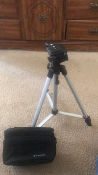 camcorder stand and accessories bag