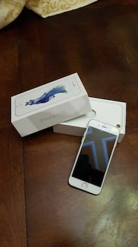 silver iPhone 6s with box (16GB)