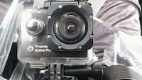 Action cam pro hd with water proof case and mounts Elkhart