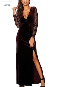 Velvet dress nigth size s never used (new) Las Vegas, 89107