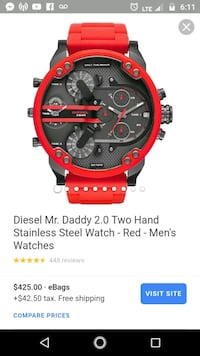 red and black chronograph watch Lynnwood, 98037