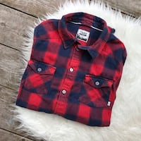 Small TNA Aritzia Plaid Shirt Toronto, M4J 4C5